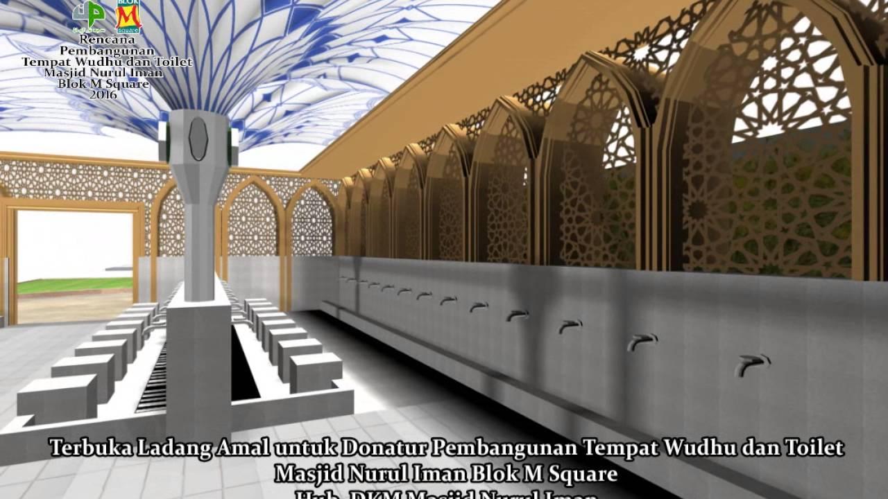 Desain Tempat Wudhu Masjid Minimalis Cek Bahan Bangunan