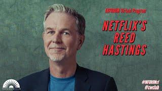 NETFLIX's Reed Hastings