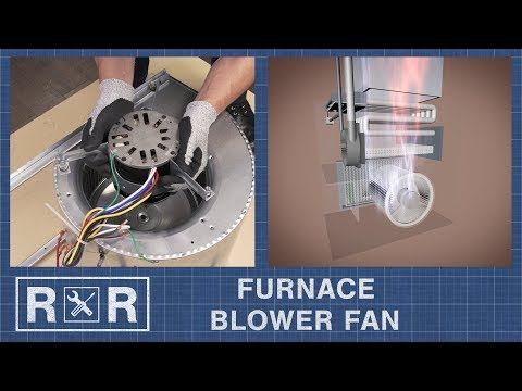 Furnace - Blower Fan | Repair and Replace - YouTube
