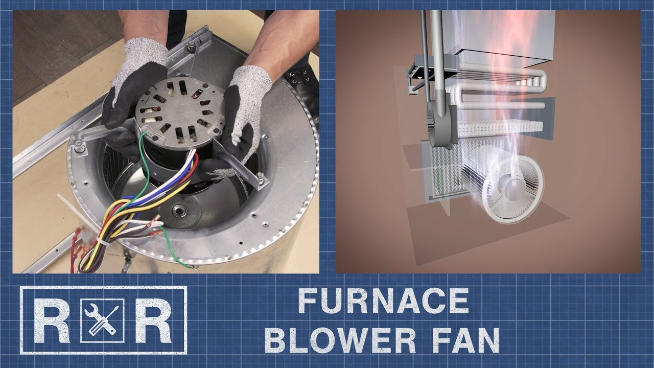 small resolution of furnace blower fan repair and replace