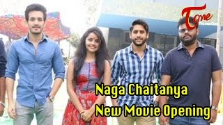 Naga Chaitanya New Movie Opening