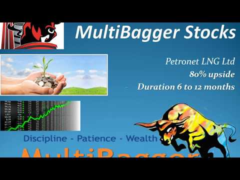 Multibagger Stocks  - Petronet LNG  - 80% - duration 6 to 12 months !!!