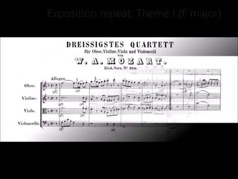 The Atheist Codger's Chamber Music Series No. 15: Mozart's F-major Quartet for Oboe and Strings