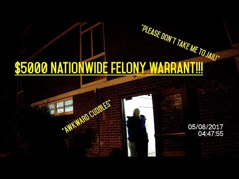 SECURITY OFFICER CATCHES $5000 NATIONWIDE FELONY WARRANT ARREST!!!