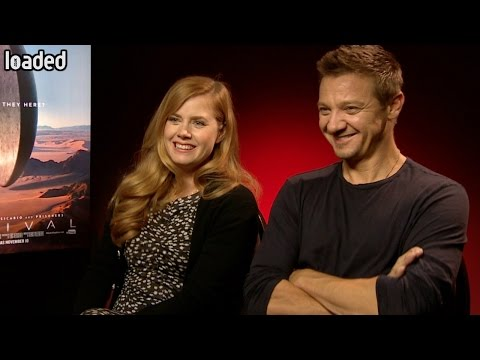 Amy Adams and Jeremy Renner's idea for a DC/Marvel crossover