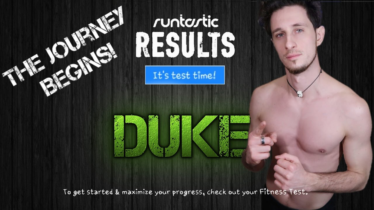 The Initial Test! My first step with #Runtastic #Results #RR