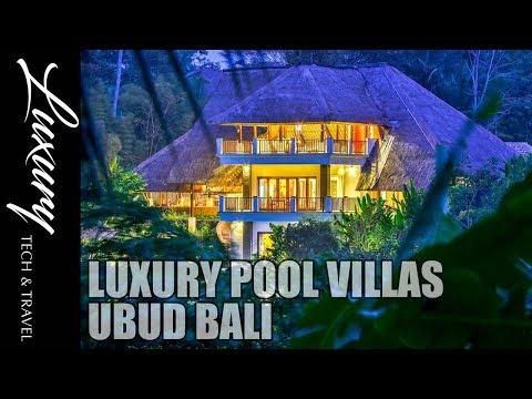 Best Luxury Pool Villas UBUD BALI VIDEO TOUR