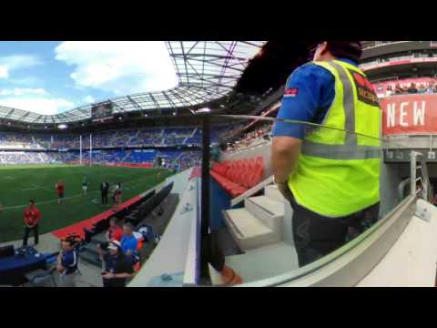 Rugby Team Entrance in 360
