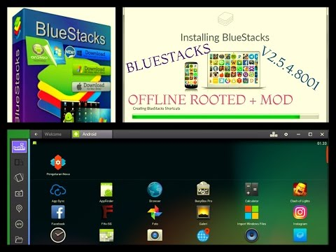WhatsApp Android Apps on PC BlueStacks App Player Offline Rooted+Mod