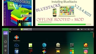 bluestacks 3.5 rooted