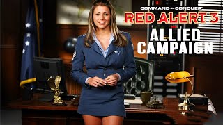 COMMAND & CONQUER: RED ALERT 3 All Cutscenes (Allied Campaign) Game Movie 4K 60FPS Ultra HD