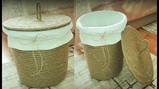 Haftanın hobisi - Halattan sepet yapımı