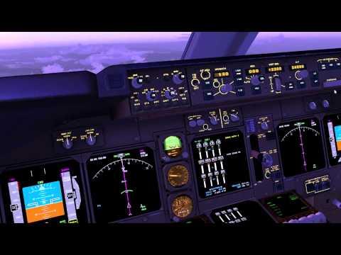 FSX Boeing 747-400 KLAX to KSFO (Full Flight)