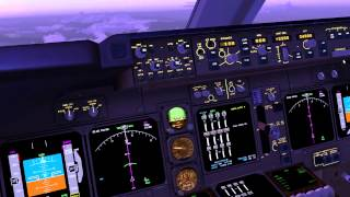 FSX Boeing 747-400 KLAX to KSFO (Full Flight)