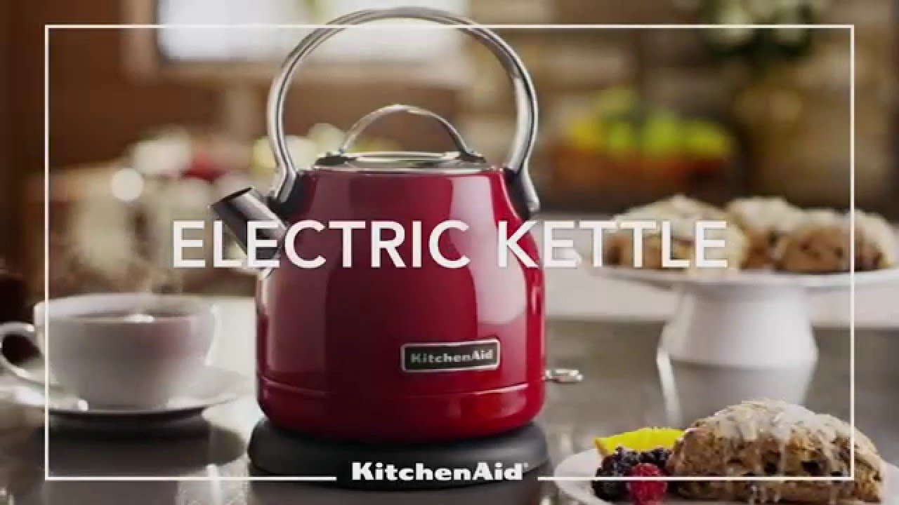 Kitchenaid 1 25l Electric Kettle Youtube
