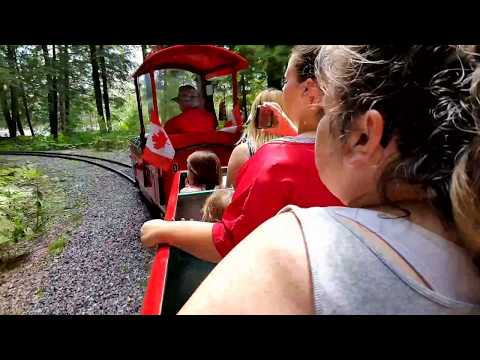 Train Ride Through Santa's Village, Bracebridge, Ontario