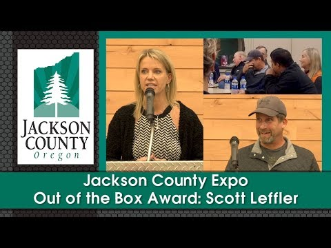 Jackson County Expo: Out Of The Box Award - Scott Leffler