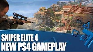 Sniper Elite 4 - We Blow Up A Bridge in new PS4 gameplay!