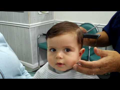 Harry's First Haircut...The Final Result