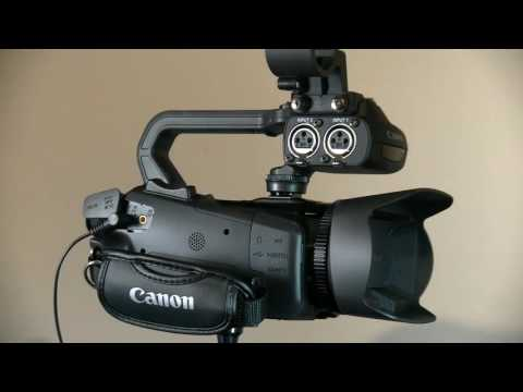 Canon AX300/350 Pro Camcorder a first look