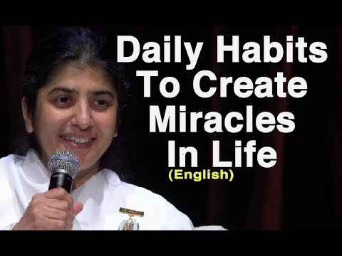 Daily Habits To Create Miracles In Life: BK Shivani At Sydney