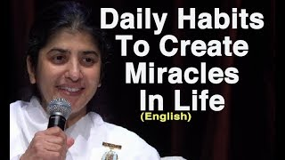 العادات اليومية على صنع المعجزات في الحياة: BK شيفانى في سيدني