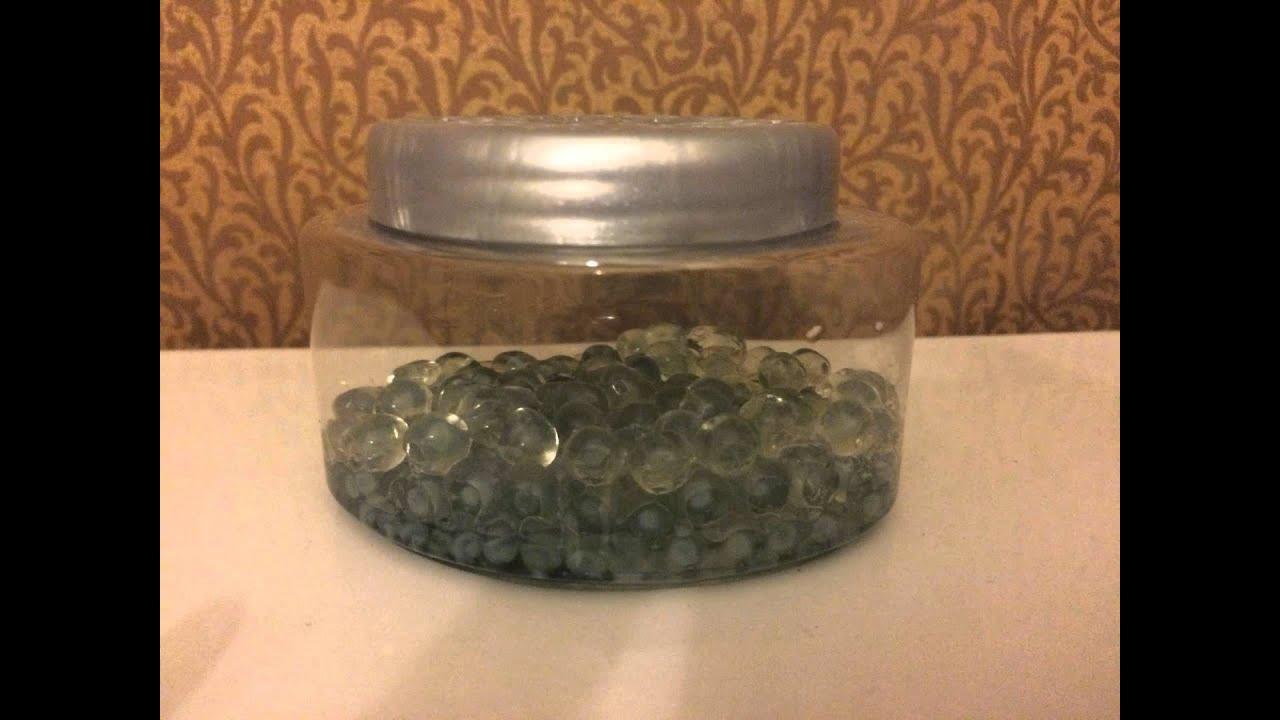 Reuse Odor Absorbing Gel Beads: 4 Steps