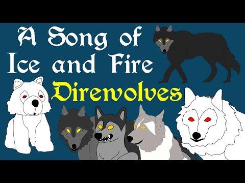 ASOIAF: Direwolves (Book Spoilers)