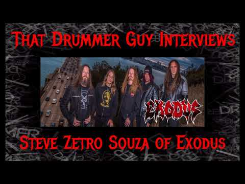 That Drummer Guy Interviews Steve Zetro Souza of Exodus