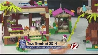 New toys showcased at International Toy Fair