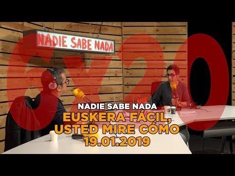 NADIE SABE NADA - (6x20): Euskera fácil, usted mire cómo