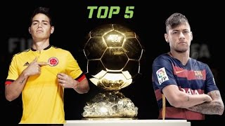 Top 5 | Future FIFA Ballon D