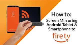 Tutorial for Fire TV