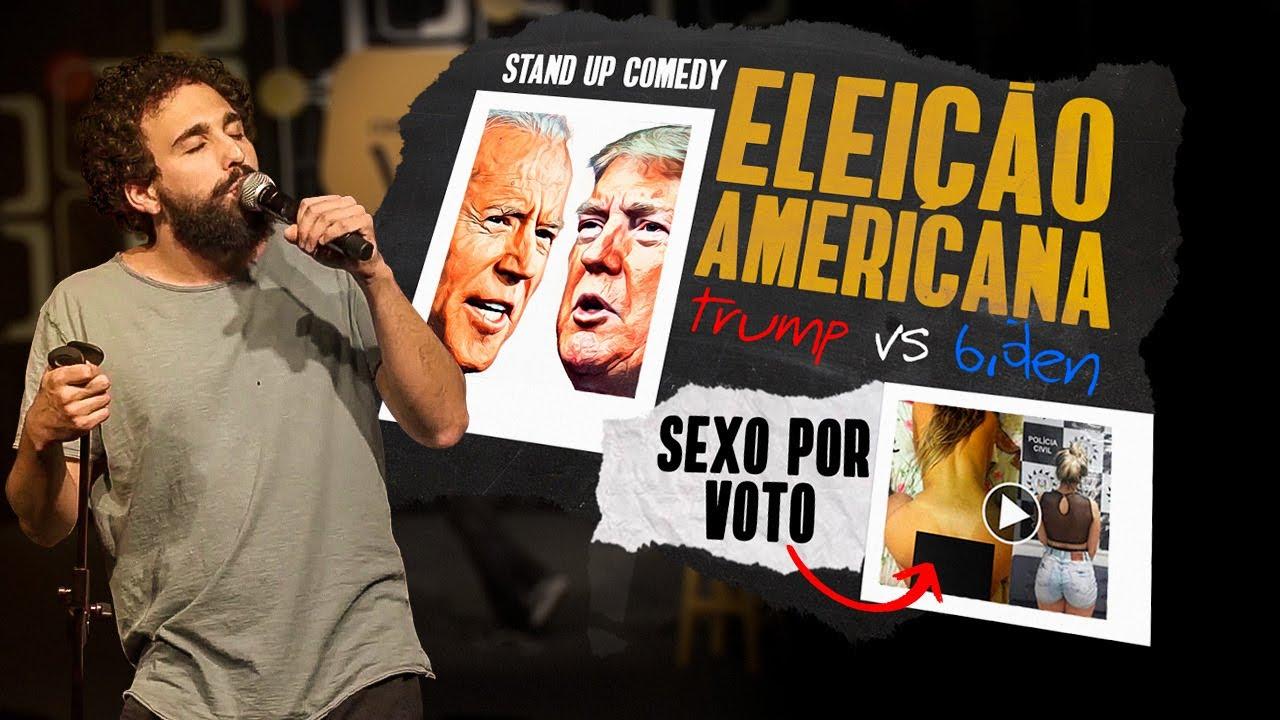 Eleição Americana, Assalto Online e voto por ****0 - Desafio Comédia Ao Vivo