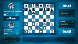 Chess Game Analysis: gee7sakk - Sherstyanoi Volchara : 0-1 (By ChessFriends.com)