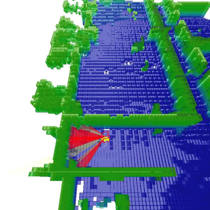Robot 3D Localization Using A Kinect And An 3D Map