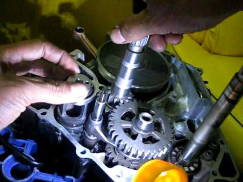 Yamahat135 Com How T135 Engine Transmission Works Youtube