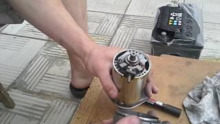 Repairing va starter motor Yamaha 540 Viking montaj qilish orqali