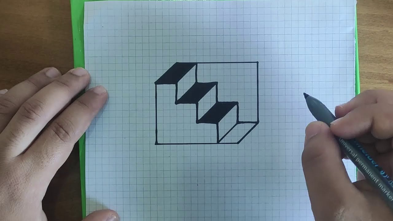 رسم اشكال هندسية ثلاثية الابعاد 5