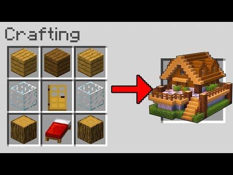 Minecraft ITA - COME CREARE UNA CASA CON SOLO UN PROGETTO!
