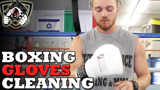 How to Clean your Boxing Gloves