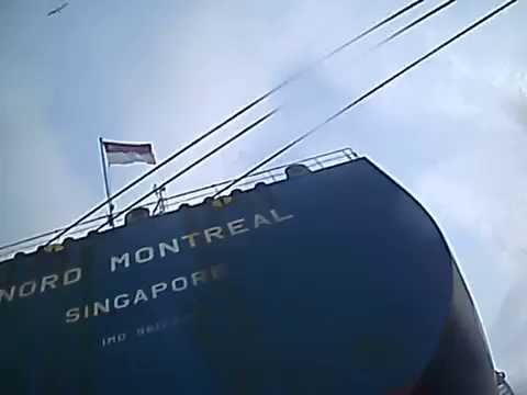 Underwater Hull Inspection Mv Nord Montreal 17/09/2015 Puerto Cabello - Venezuela PART 2