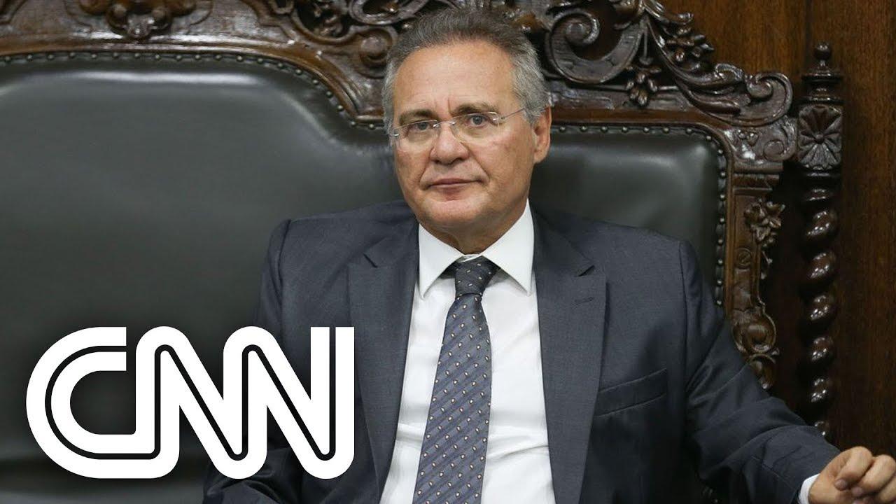 Renan Calheiros traça estratégia para acalmar militares e aproximá-los da CPI | CNN 360º - YouTube