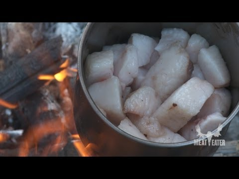 How to Cook Bear Meat in Bear Fat with Steven Rinella – MeatEater