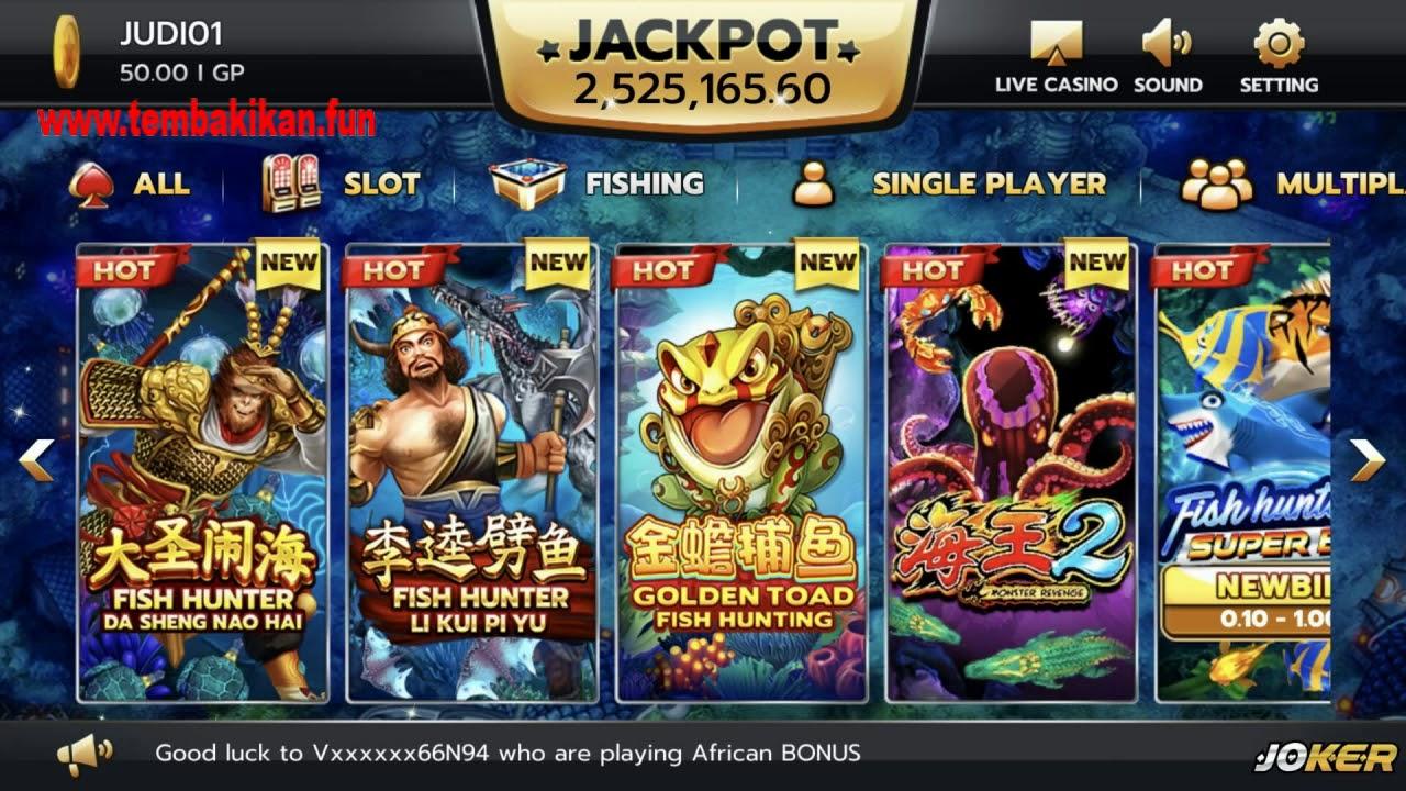 Games Tembak Ikan Online Youtube