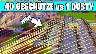 40 Geschütztürme GEGEN 1 Dusty Divot 😱   Fortnite Season 6 Deutsch German