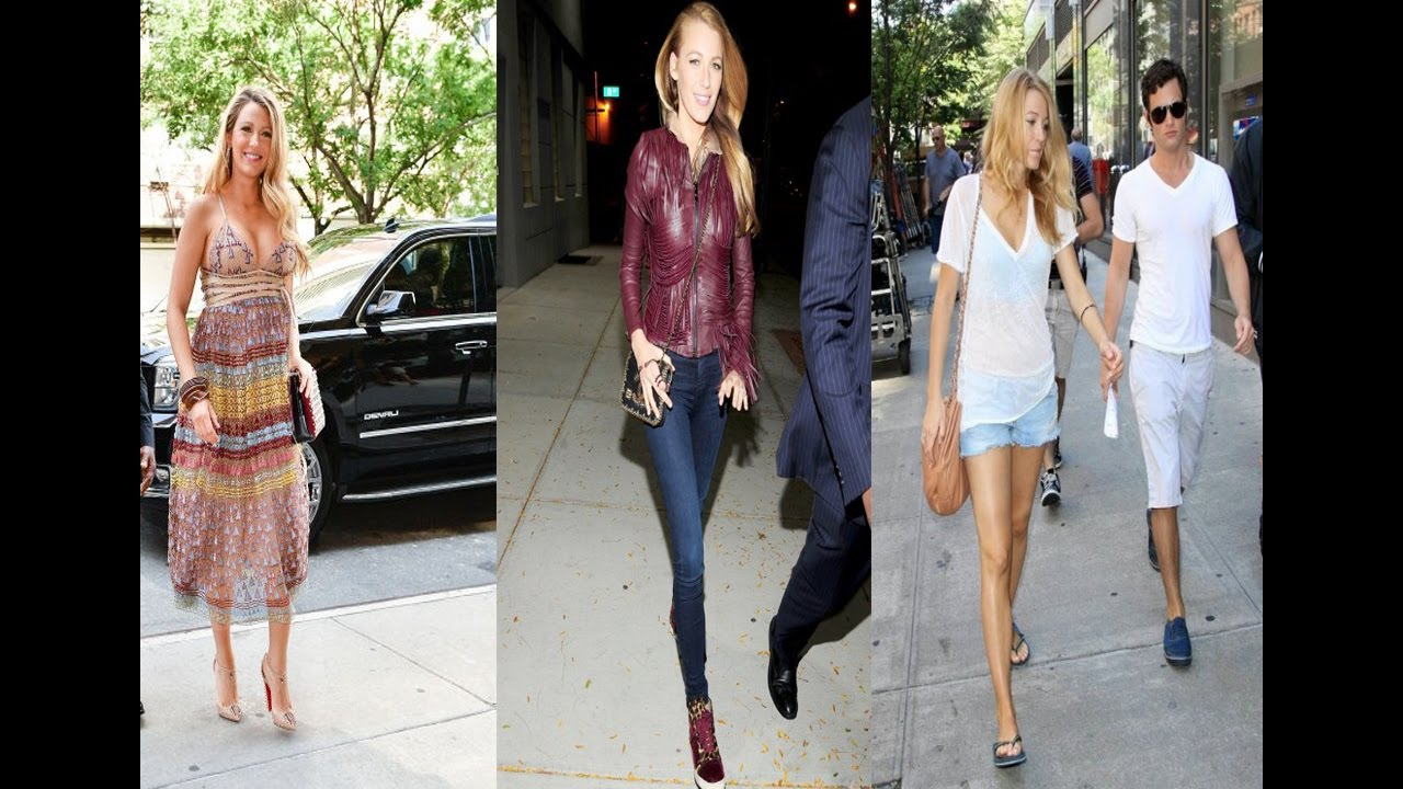 blake lively casual style 2016 youtube