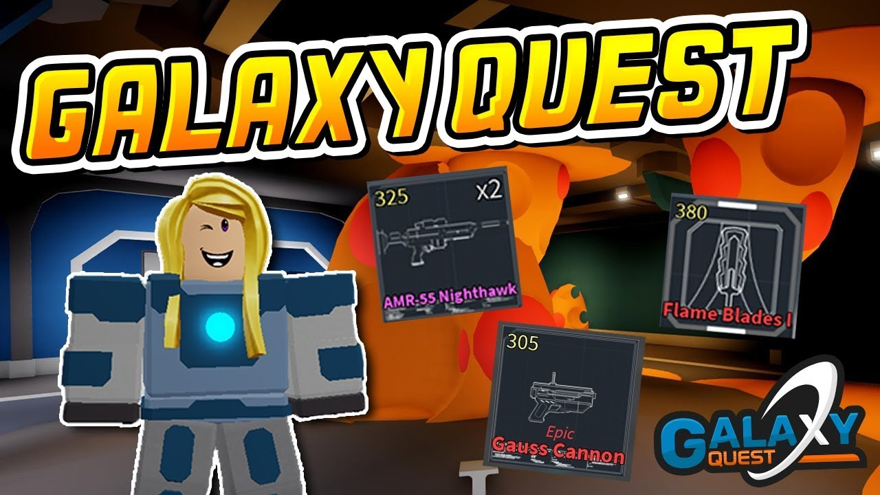 New Galaxy Quest The Next Dungeon Quest Roblox Youtube
