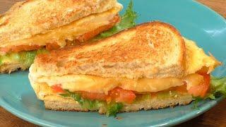 ЗАВТРАК за 5 минут быстрый рецепт бутербродов Вкуснятина за считанные минуты