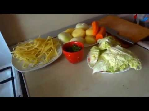 Суп Затируха - кулинарный рецепт